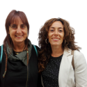 Inma Tena i Teresa Hernando