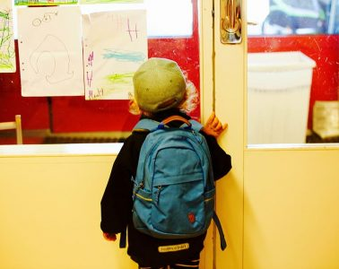 L'arribada a l'escola